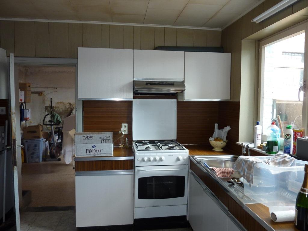 De keuken boerenerf - Keuken in het oude huis ...